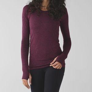 Lululemon Swiftly Long Sleeve Dashing Purple